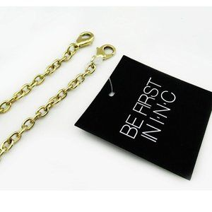 INC CONCEPTS GOLD CHAIN STRAP FOR CLUTCHES:$18.00